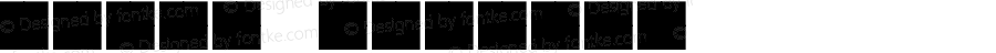 矿产符号新 Regular