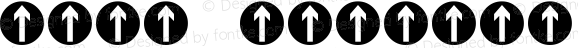 行车标志 Regular