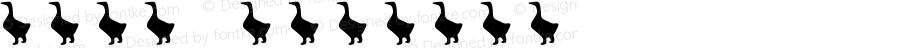 牲畜符号 Regular