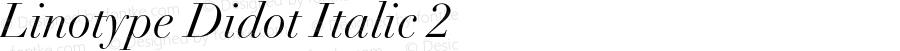 Linotype Didot Italic 2 001.000