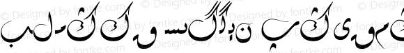 Alpida Uyghur Diwani Regular Version 4.00