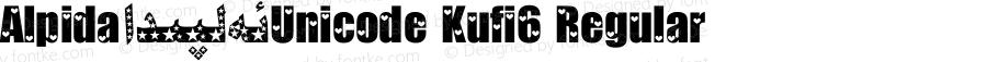 Alpida_Unicode Kufi6 Regular Version 4.00