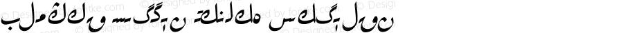Alpida Uyghur Kesme2 Regular Version 4.00