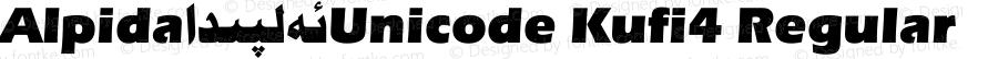 Alpida_Unicode Kufi4 Regular Version 4.00