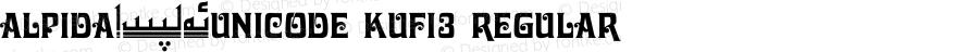 Alpida_Unicode Kufi3 Regular Version 4.00