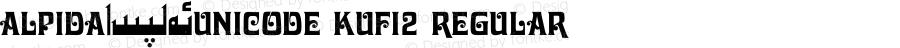 Alpida_Unicode Kufi2 Regular Version 4.00