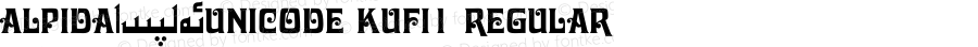Alpida_Unicode Kufi1 Regular Version 4.00