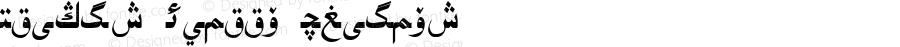 Uighur Asliya Regular Uighur Asliya 1.0