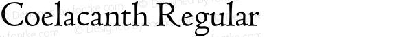 Coelacanth Regular