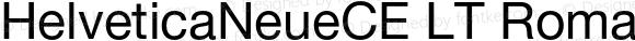 HelveticaNeueCE LT Roman 002.000
