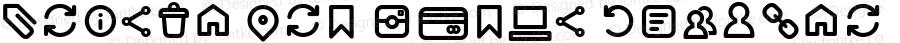 Arista Pro Icons Regular Version 1.000
