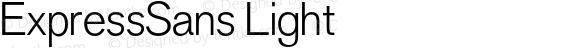 ExpressSans Light