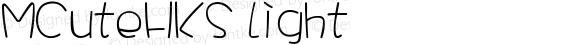 MCuteHKS Light