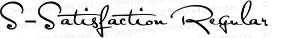 S-Satisfaction Regular Version 1.00 April 21, 2010, initial release