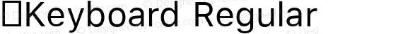 .Keyboard Regular
