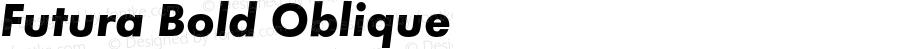Futura Bold Oblique Version 1.000;PS 1.10;hotconv 1.0.38