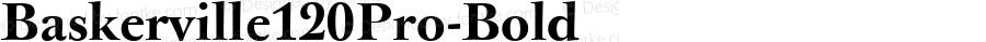 Baskerville120Pro-Bold ☞ Version 1.000;com.myfonts.easy.storm.baskerville-original-pro.120-bold.wfkit2.version.3oQK