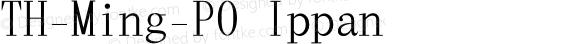 TH-Ming-P0 Ippan