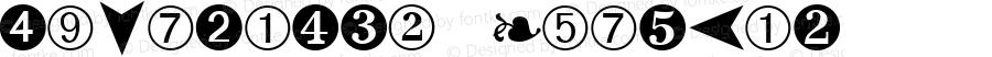 DingBats2 Regular (C)opyright 1992 WSI:8/22/92