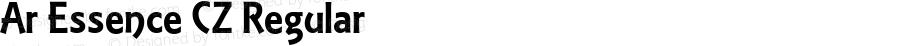 Ar Essence CZ Regular Version 2.00 April 17, 2014