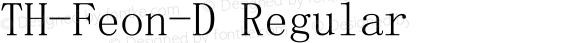 TH-Feon-D Regular