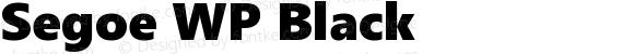 Segoe WP Black