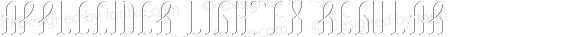 AppleCider LightFX Regular Version 1.00 April 26, 2017, initial release