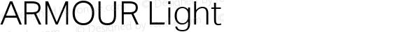 ARMOUR Light Version 1.000
