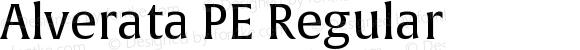Alverata PE Regular Version 1.001