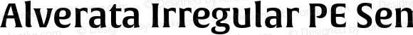 Alverata Irregular PE Semibold Version 1.001