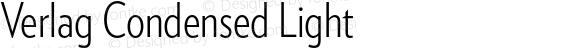 Verlag Condensed Light