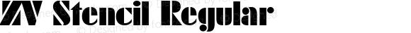 ZV Stencil Regular