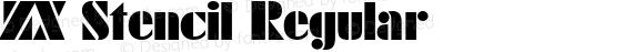 ZX Stencil Regular