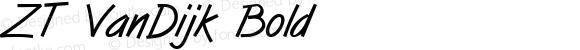 ZT VanDijk Bold