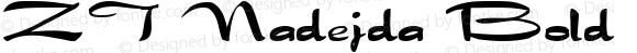 ZT Nadejda Bold ver.1.beta2 :21/5/98