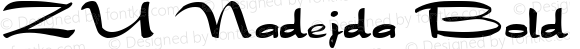 ZU Nadejda Bold ver.1.beta2 :21/5/98