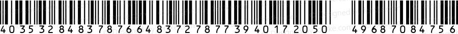 IDAutomationHI25S Regular Version 3.07 2003