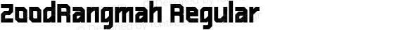 ZoodRangmah Regular Version 3.000 2007 initial release