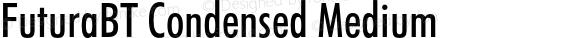 FuturaBT Condensed Medium