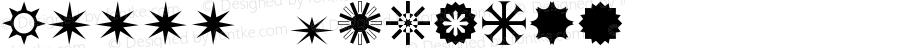 0星星图案 Regular Version 0.00 January 1, 1904