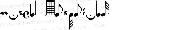 Musical Notes Regular