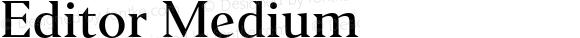 Editor Medium