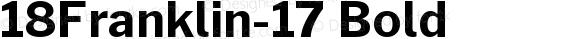 18Franklin-17 Bold