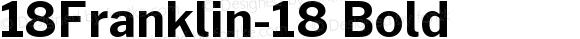 18Franklin-18 Bold