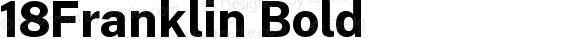18Franklin Bold