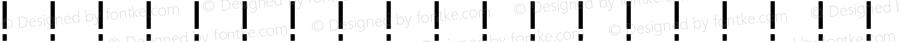 SXHGemingdahei-GB Regular 1.00