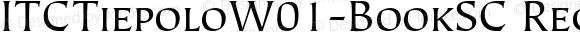 ITCTiepoloW01-BookSC Regular Version 1.00