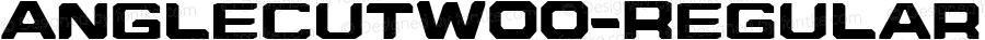 AnglecutW00-Regular Regular Version 1.00
