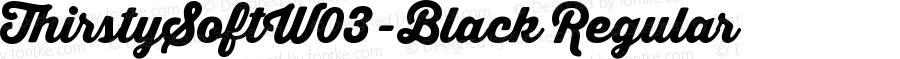 ThirstySoftW03-Black Regular Version 1.00