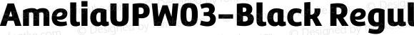 AmeliaUPW03-Black Regular Version 1.10